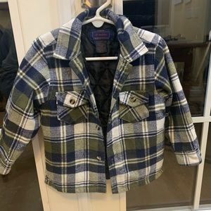 Lil Hickory Boy's Insulated Flannel Workshirt